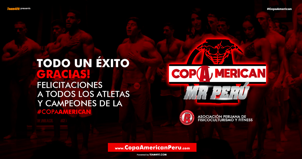 Copa American Mr. Perú 2019